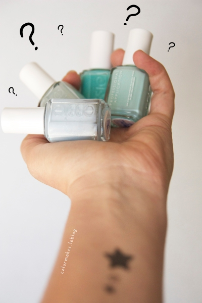 Vernis_Essie_Where's my chauffeur_Candy Apple_Who is the bos_Lilacism