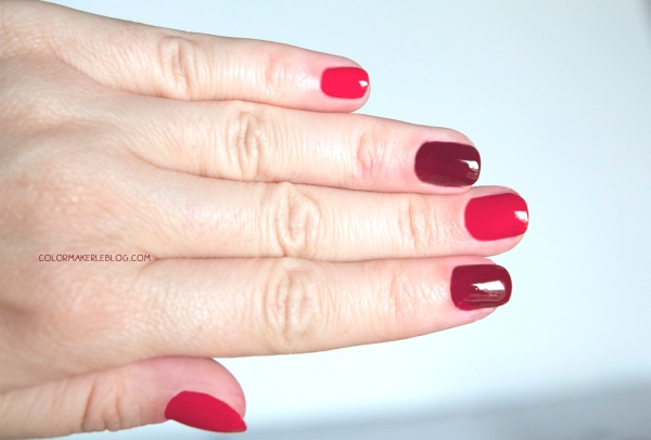 nails rouge