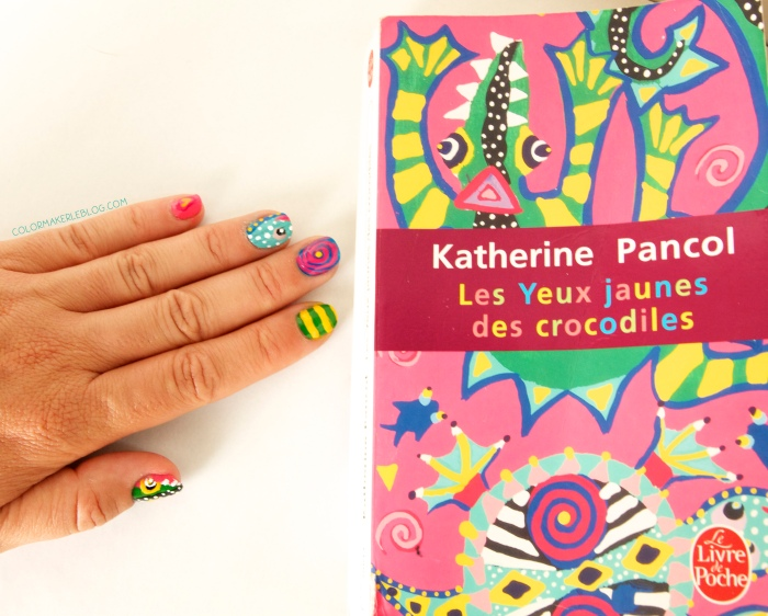 katerine pancole crocodile nails