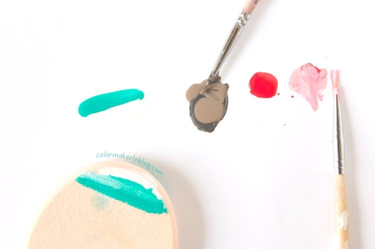 tool nail art beach sand