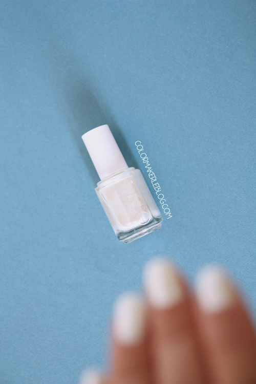 Vernis essie Pearly white