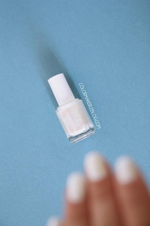 Vernis essie Pearly white