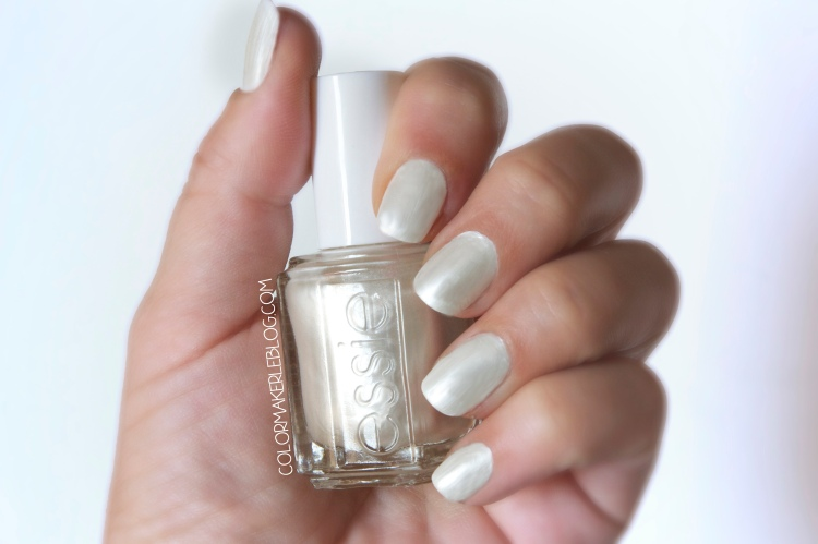 vernis Pearly white flacon