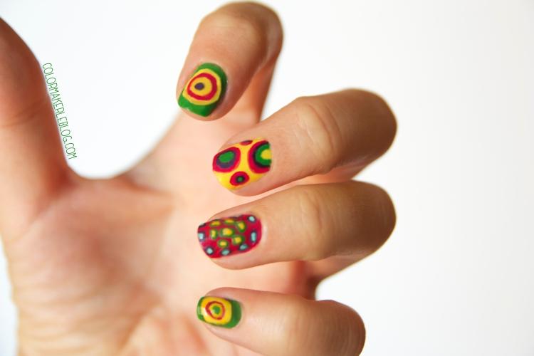 la valse des tortues nail art