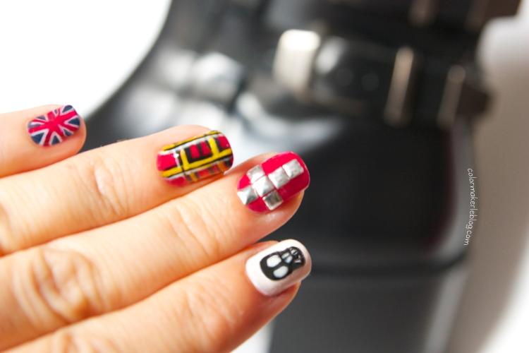 nail art grunge 2013