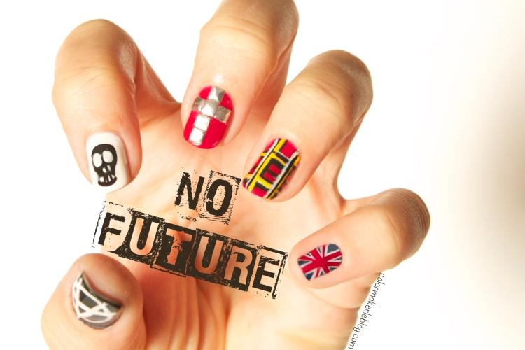 nail art grunge