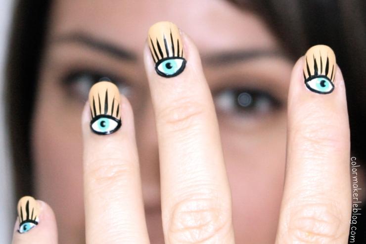 alexa chung nail art
