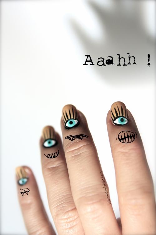 Eyes nails