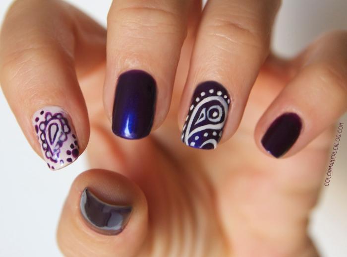 nails paisley