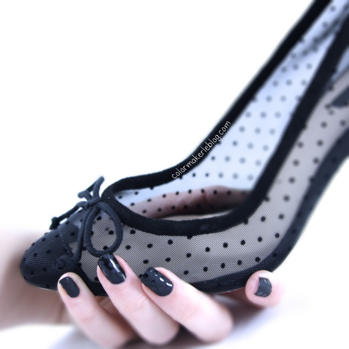 chaussures zara plumetis